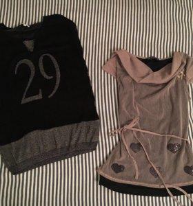 блузка Rinascimento и футболка нарядная с люрексом