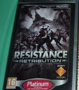 Диск для PSP resistance retribution