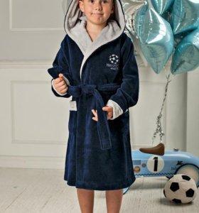 Спортивный халат для мальчика
