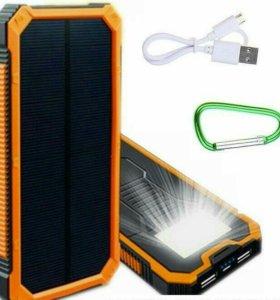 Power Bank 30000 mah на солнечной батареи