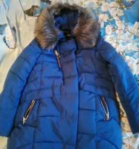 Куртка зимняя для беременных или для полненьких