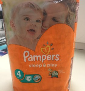 PAMPERS sleep & play 4. 14шт