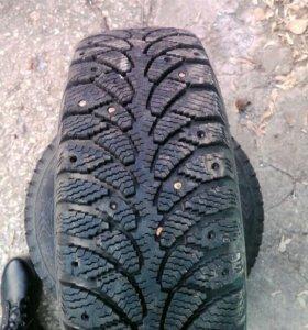 Колеса зимние шипованные cordiant