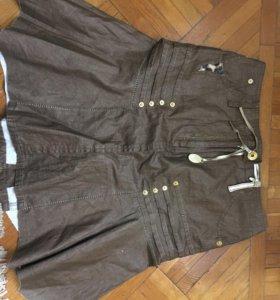 Юбка SOCIETA lTALY джинс размер -40