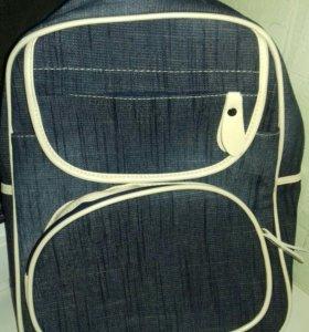 Новый рюкзак джинс