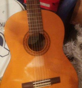 Гитара шерсти струнная