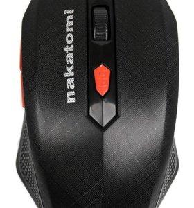 Мышь Nakatomi MRON-08U Black