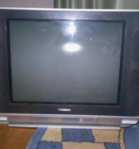 Телевизор кинескопный 2шт