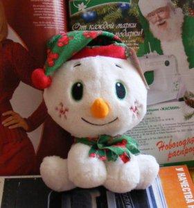 Новая игрушка Снеговик