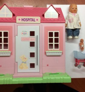 Домик с куклами.