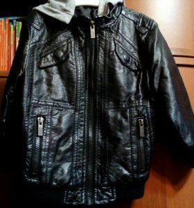Куртка кож на мальчика
