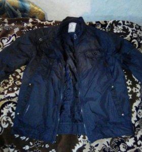 Куртка на подростка 48 размер