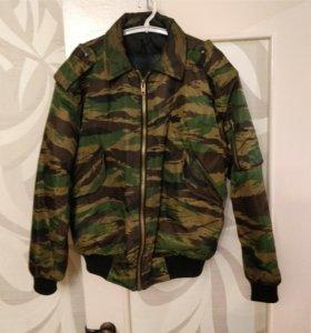 Куртка укороченая(камуфлированая)