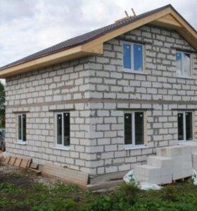 Строительство из пенобетона/газобетона