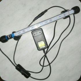 Светодиодный светильник в аквариум.