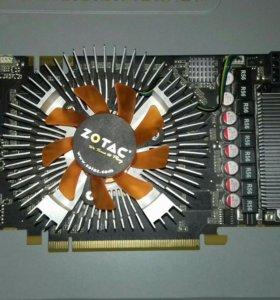 Видеокарта Zotac Gts250 на запчасти