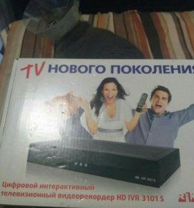 Новый Ресивер HD с жест.диском 160Гб