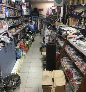 Готовый действующий магазин с товаром