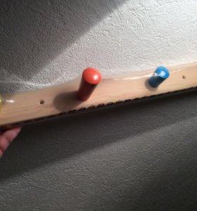 IKEA вешалка настенная для детской