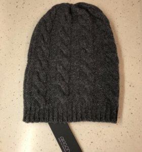 Новая шапка 100% кашемир