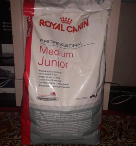 Корм Royal-Canin MEDIUM JUNIOR 12кг