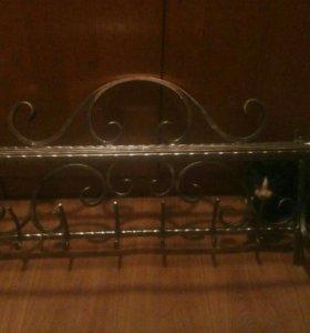 Кованная вешелка навесная