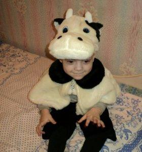 Новогоднии костюмы бычок,божья коровка,леопард.