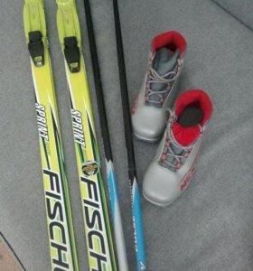 Детские лыжи Fisher