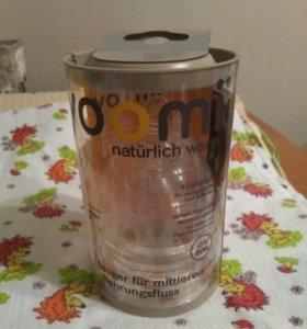 Соска Yoomi средний поток 3-6 мес. 2 шт.