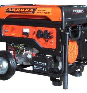 Генератор бензиновый Aurora AGE-7500 DZN