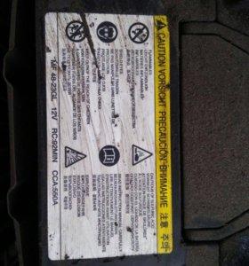аккумулятор Hyundai solaris (солярис)