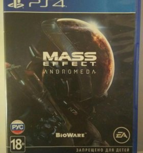 Mass Effect Andromeda ps4 игра
