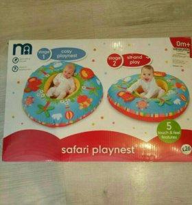 Игровой круг, матрас mothercare