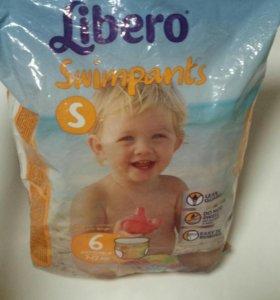 Libero swimpants подгузники для бассейна 7-12 кг