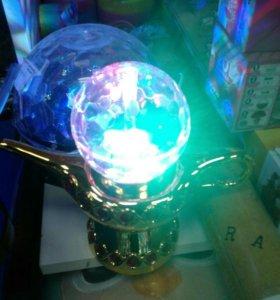 Диско лампа Алладина