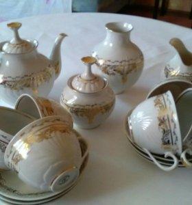 Сервиз чайный Сысертский фарфор