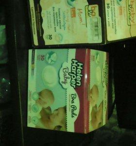 Гелевые прокладки впитывающие для кормящих мам