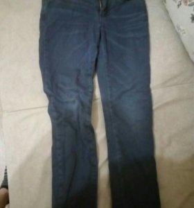 Теплые штаны с начесом для девочек