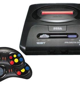 Sega magistr drive встроенные игры