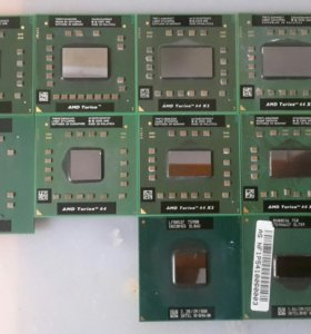 Процессоры ноутбучные AMD/Intel