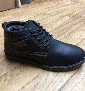 Новые мужские ботинки зима