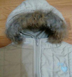 Куртка 9-12 мес 74 рост демисезонная