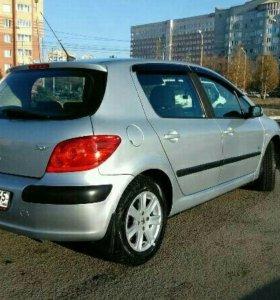 Автомобиль Пежо - 307, 2007 г.в.