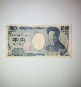 Банкнота 1000 йен, Япония