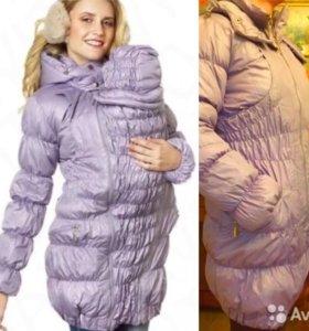 Новое зимнее пальто для беременных