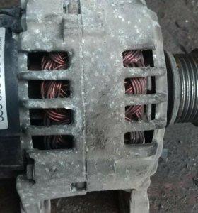 Генератор, насос гура, компрессор кондиционера