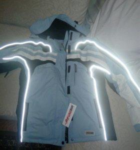 Новая Куртка зимняя спорт., 46-48