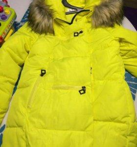 Пуховик, зимняя куртка, ог 110-112