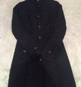 Стёганное пальто
