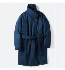 Модное зимнее пальто Uniqlo